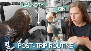 My post-trip routine | ad