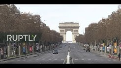 LIVE: Lockdown continues in Paris amid coronavirus outbreak