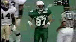 Catch Against Notre Dame on Espn in 1997