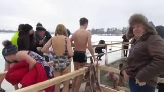 Соревнования по моржеванию в Клинцах 2