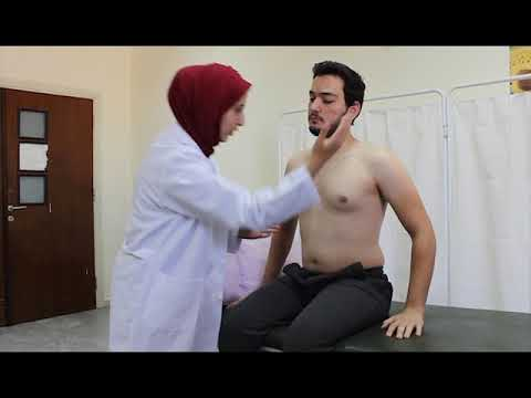 cardiopulmonary physiotherapy session