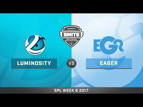 SPL Spring Split Week 6 Team Eager vs. Luminosity Game 1