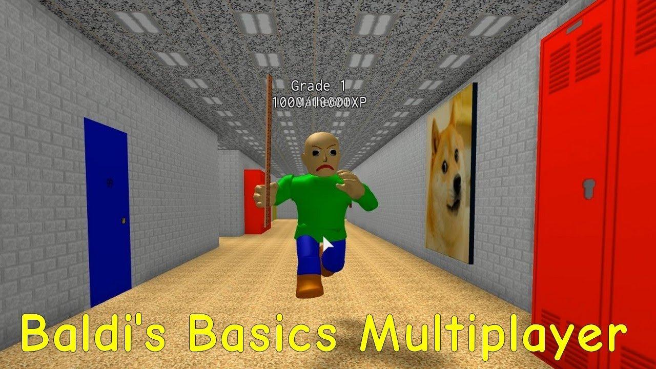 Baldis Basics 3d Morph Rp Baldis Basics In Education And Learning 3d Roblox Map 2 - Baldi S Basics Multiplayer 04 Roblox Map Youtube