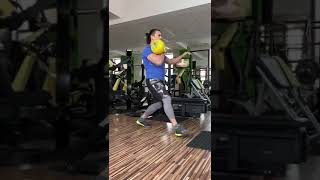 Kettlebell Swing with Lunges Variations