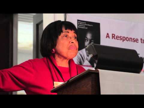 Dr. Dorothy Cotton - Part 1. CCT Symposium on Race, Faith and Our Future