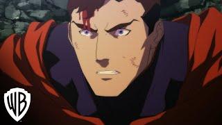 """The Death of Superman"" clip - Superman vs Doomsday"