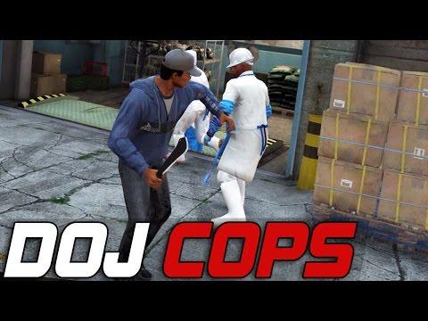 Dept. of Justice Cops #145 - Baseballs & Machetes (Criminal)