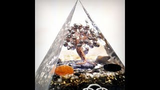 Arbol con perlas de agua dulce
