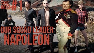 Our Squad Leader Napoleon - PUBG EPIC MATCH #1
