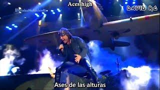 Iron Maiden - Aces High Rock in Rio 2019 (Sub Español) [Lyrics] HD