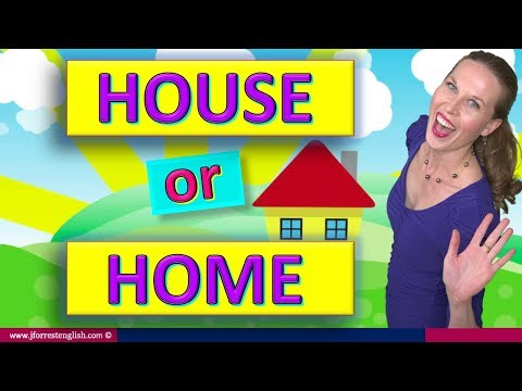 House or Home - Difference Between House and Home