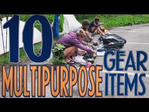 10 Multipurpose Backpacking Gear Items