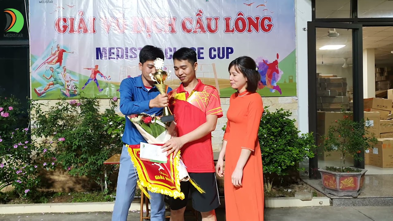 Bế Mạc Giải Cầu Lông Medistar Close cup 2021, trao giải