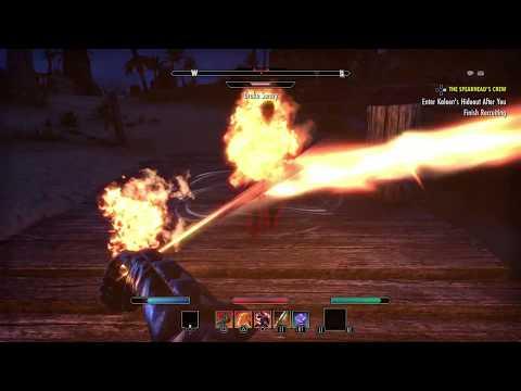 The Elder Scrolls Online - The Spearhead's Crew: Release Crennard, Dortene, Haerdon Mekaggro (2015)