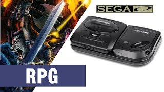 All SEGA CD / Mega CD RPG Games Compilation - Every Game (US/EU/JP/BR)