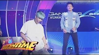 Vice at Gandang Lalaki contestant, nag-showdown sa sayawan