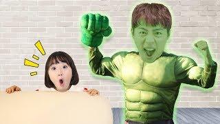티비에서 헐크가 나왔어요!! Hero Avengers Transformation 슈퍼 마슈 출동!!! HERO 히어로 어벤져스 변신놀이 마슈토이 Mashu ToysReview