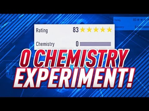 0 CHEMISTRY SQUAD! DOES CHEM EVEN MATTER ?! FIFA 18 ULTIMATE TEAM EXPIREMENT