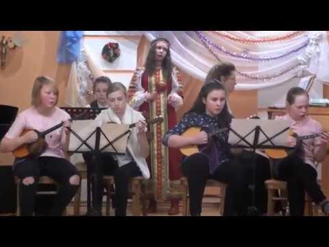 Концерт в детской музыкальной школе