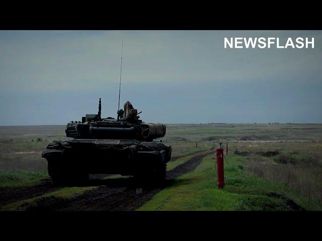 Russian Anti-Tank Crews Take Down Mock Enemy In Training Exercise