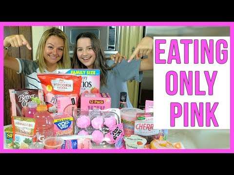 Eating Only Pink With Annie LeBlanc | Kesley Jade