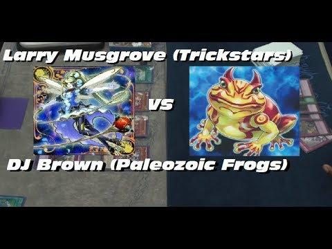 Larry Musgrove (Trickstars) Vs. DJ Brown (Paleozoic Frogs) - Plus One Gaming Feature Match