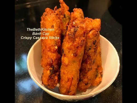 Bánh Cay giòn giòn cay cay ăn ngon khó ngừng, công thức Tiếng Việt.