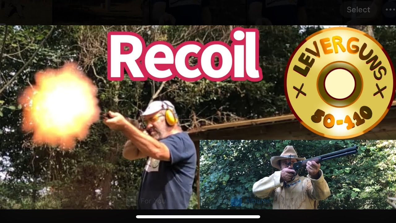 How to deal with heavy recoiling lever action