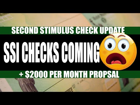second-stimulus-check-and-stimulus-package-update-may-9th- -new-$2000-proposal,-ssi-checks-coming