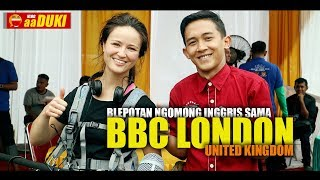 Download Video aaDUKI : Blepotan Ngomong INGGRIS Sama BBC LONDON United Kingdom MP3 3GP MP4