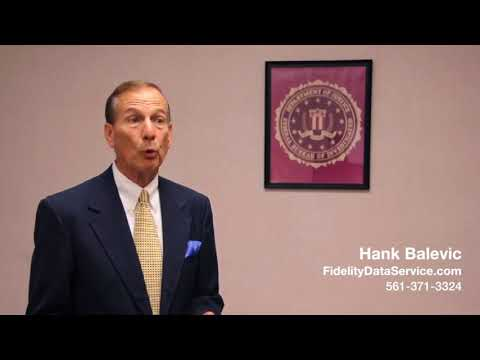 Not Doing Background Screening  - Background Checks, Investigation -  Hank Balevic