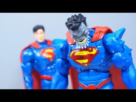 Dc Multiverse Superman Doomed Doomsday Baf Youtube
