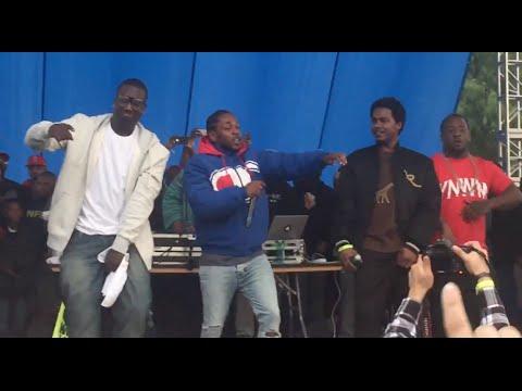 "Kendrick Lamar Perfoms Jay Rock ""Vice City"" TDE Watts Projects Christmas Concert"