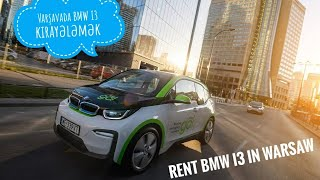 How to rent #innogygo #BMWI3 cars in Warsaw, Poland. #warsaw #Poland #innogygo #innogy