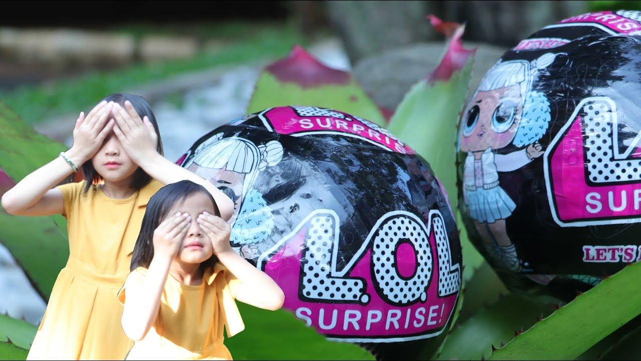 Lifia Niala Hunting Lol In Taman Putri Duyung Ancol Children Toys