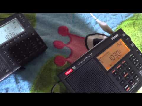 WBZ 1030 Khz Mediumwave on Grundig G5 VS Tecsun PL680