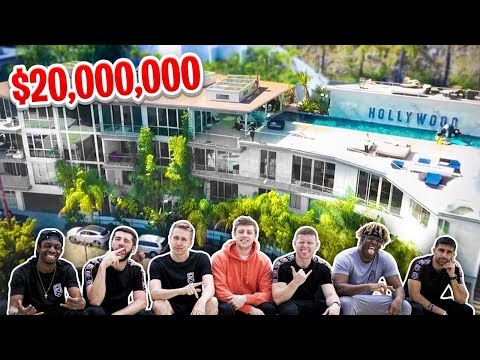 SIDEMEN $20 MILLION CLOUT HOUSE HIDE & SEEK