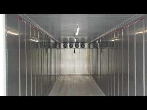 30′ Hi Cube Cold Box 220 Volts Single Phase
