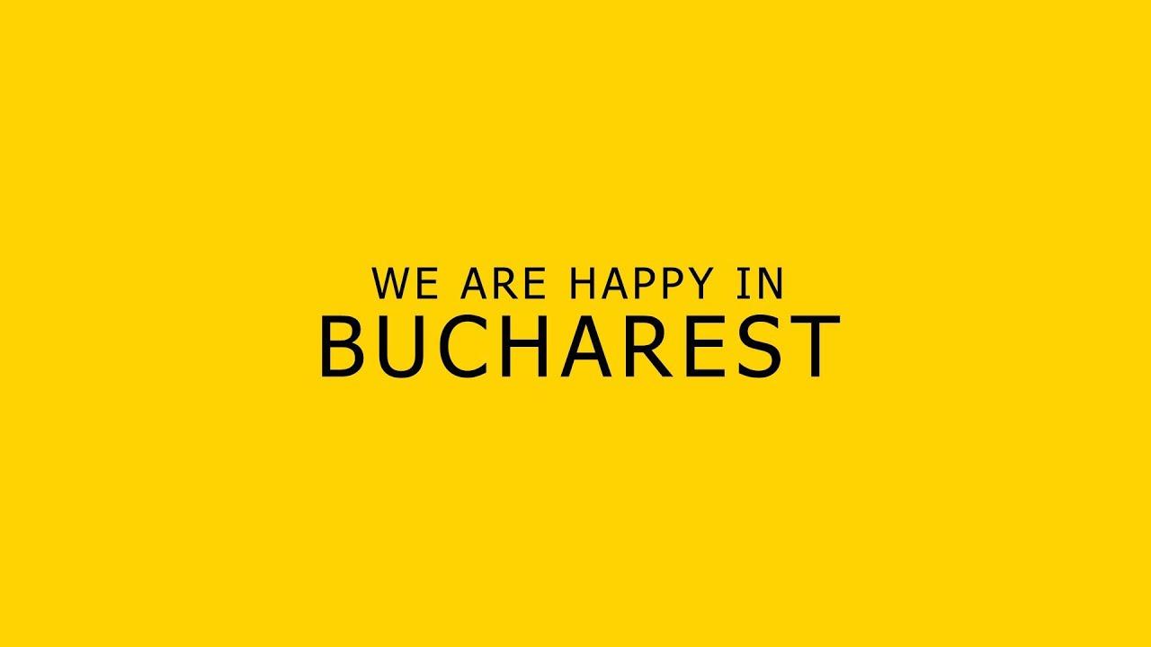 Pharrell Williams - Happy ( WE ARE FROM BUCHAREST )