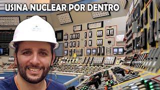 Entramos na usina nuclear de Angra!!! #Boravê