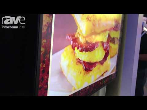InfoComm 2017: NEC Display Debuts New C551 Restaurant/Transportation Digital Signage