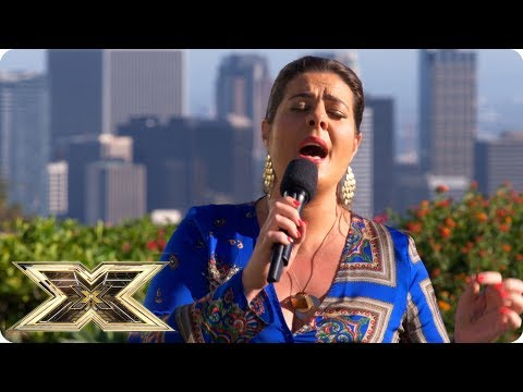 Louise Setara breaks down in heartrending performance  Judges Houses  The X Factor UK 2018