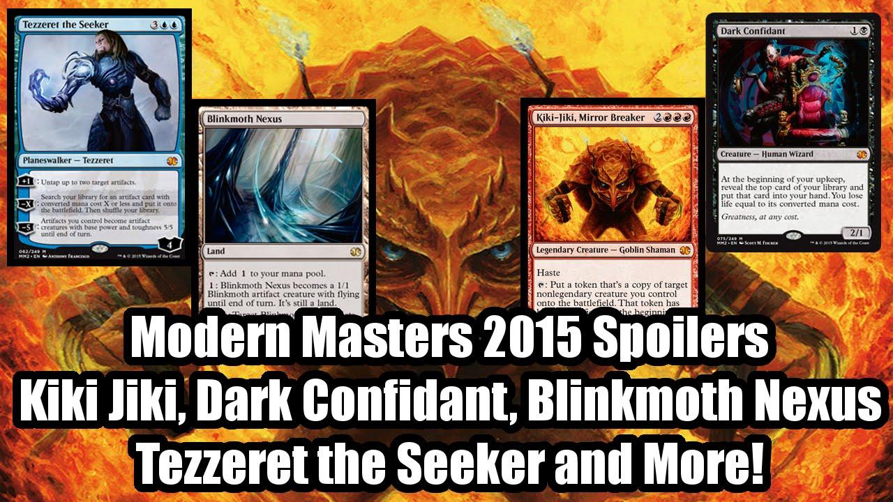 Modern Masters 2015 Spoilers: Dark Confidant, Tezzeret the ... Dark Confidant Modern Masters