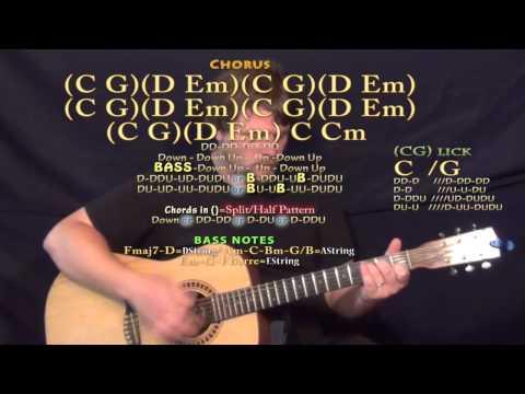 On My Own (Teen Beach 2) Guitar Lesson Chord Chart