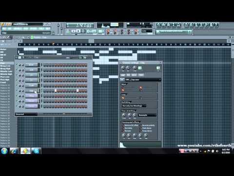 FL Studio 9- All Stock Crunk Beat (Free FLP and MP3 Download)