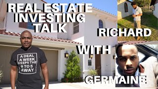 Real Estate Investing Talk with Richard and Germaine | LIVE