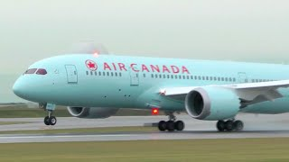 Air Canada Boeing 787-8 Dreamliner Smooth Landing at YVR