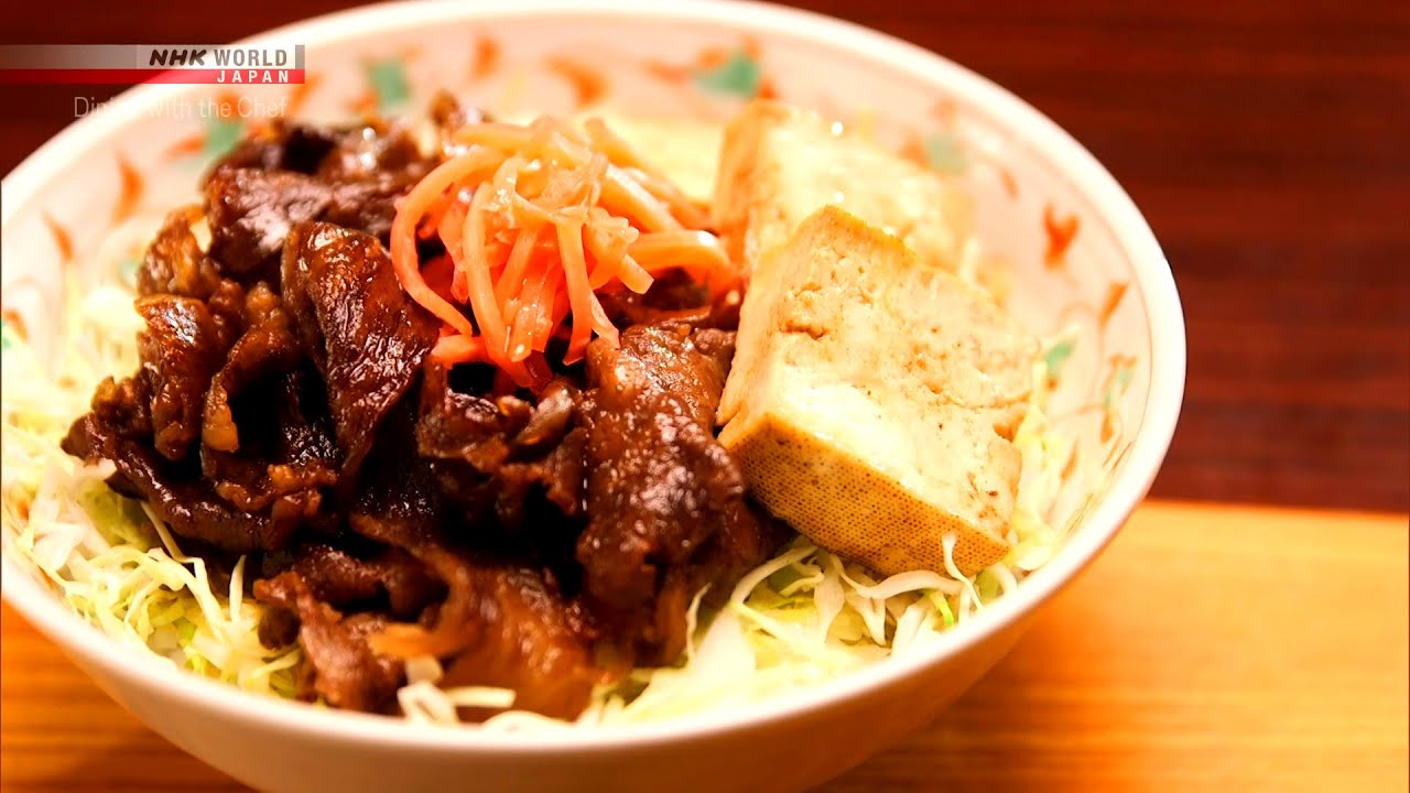 Photo of Chef Saito's Sukiyaki-don [Japanese Cooking] – Dining with the Chef – video