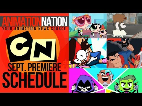 Cartoon Network Premiere Schedule: September 2017