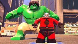 Lego Filmi Hulk ve Karınca Adam Süper Güçlerini Sergiliyor (Lego Marvel Super Heroes)
